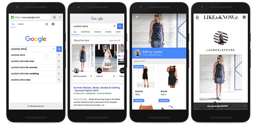 shop the look google