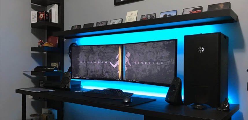 monitores de PC gamer em alta definição