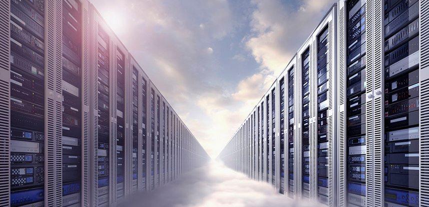 servidor interno ou hospedagem na nuvem
